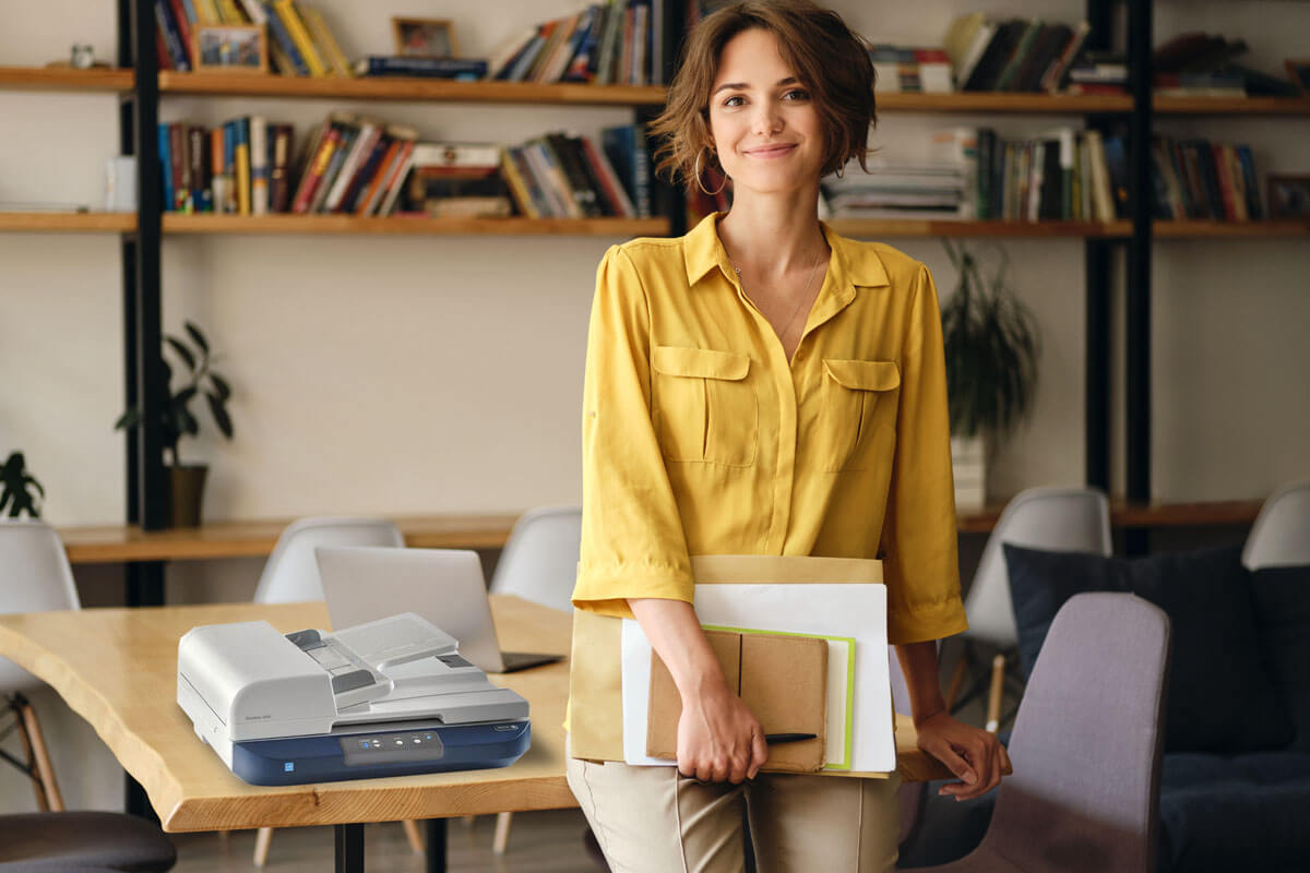 Shop Xerox® DocuMate scanners for checks, identification cards and passports from Lucas Business Systems, A Xerox Business Solutions Company
